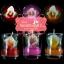 เทียนหอมดอกคัลล่าบรรจุในแก้วใส แพ็คถุงแก้ว ผูกเชือกพร้อมใบไม้ thumbnail 1