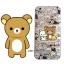 เคสใส สกรีนลายเส้นนูน Rilakkuma iPhone 6 Plus/ 6S Plus thumbnail 1