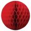 35 cm. โคมรังผึ้ง แดง thumbnail 1