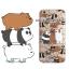 เคสใส สกรีนลายเส้นนูน Bare Bear iPhone 6 Plus/ 6S Plus thumbnail 1