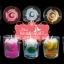 เทียนหอมดอกกุหลาบ ดอกตูม และดอกบาน บรรจุในแก้วใส แพ็คถุงแก้ว ผูกโบว์ thumbnail 4