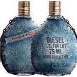 น้ำหอม Diesel Fuel for Life Denim Collection Homme for Men EDT 75 ml. Nobox.