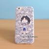 เคสใส สกรีนลายเส้นนูน Onepiece 02 iPhone 5/5S/SE