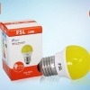 FSL ปิงปอง LED 2W Yellow แสงสีเหลือง