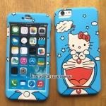 เคสประกบ Doraemon #4 สำหรับ iPhone 6 Plus และ 6S Plus