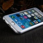 เคสประกบ 360 องศา สีเงิน iPhone 6 Plus/ 6S Plus