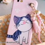 แมวจี้ พู่ห้อย iPhone 6 Plus/ 6S Plus