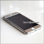 เคสประกบ 360 องศา สีเงินเมทัลลิค iPhone 6 Plus/ 6S Plus