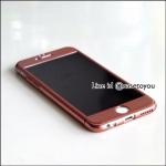 เคสประกบ 360 องศา สีทองเข้มเมทัลลิค iPhone 6 Plus/ 6S Plus