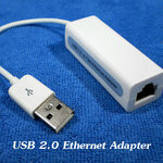 USB 2.0 Ethernet Adapter (แลน USB)