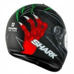 Shark S600-2014 Terror Mat Green Red