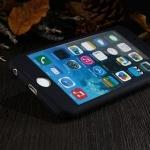 เคสประกบ 360 องศา สีดำด้าน iPhone 6 Plus/ 6S Plus