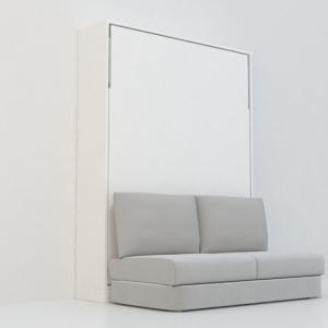 เตียงพับ 5' รุ่นอินสปาย Sofa ผ้า (พร้อมที่นอน แบรนด์ sealy)