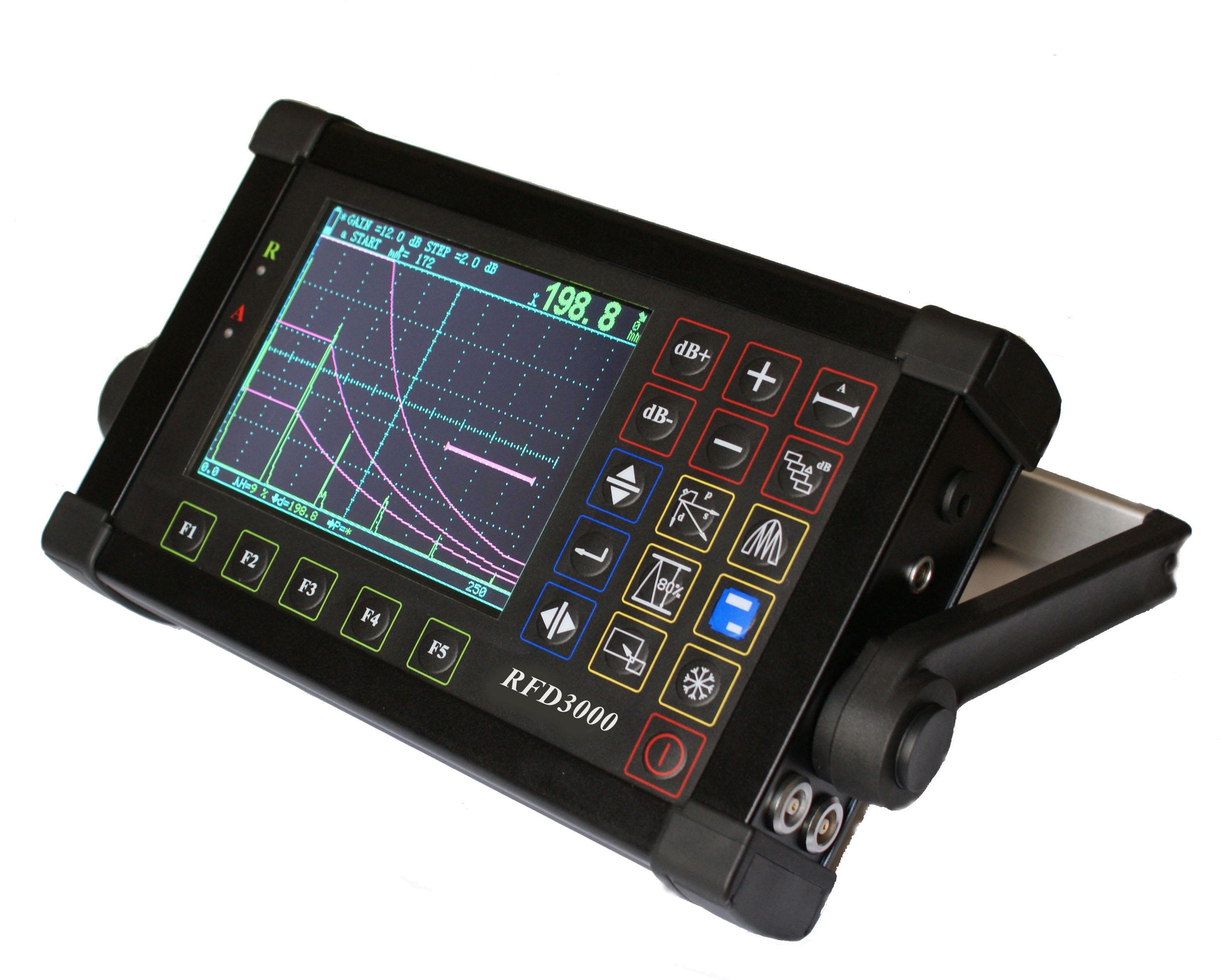 เครื่องตรวจสอบรอยร้าวโดยวิธีอัลตร้าโซนิค (Ultrasonic flaw detector) รุ่น RFD 3000 Defectoscope 0~10000mm