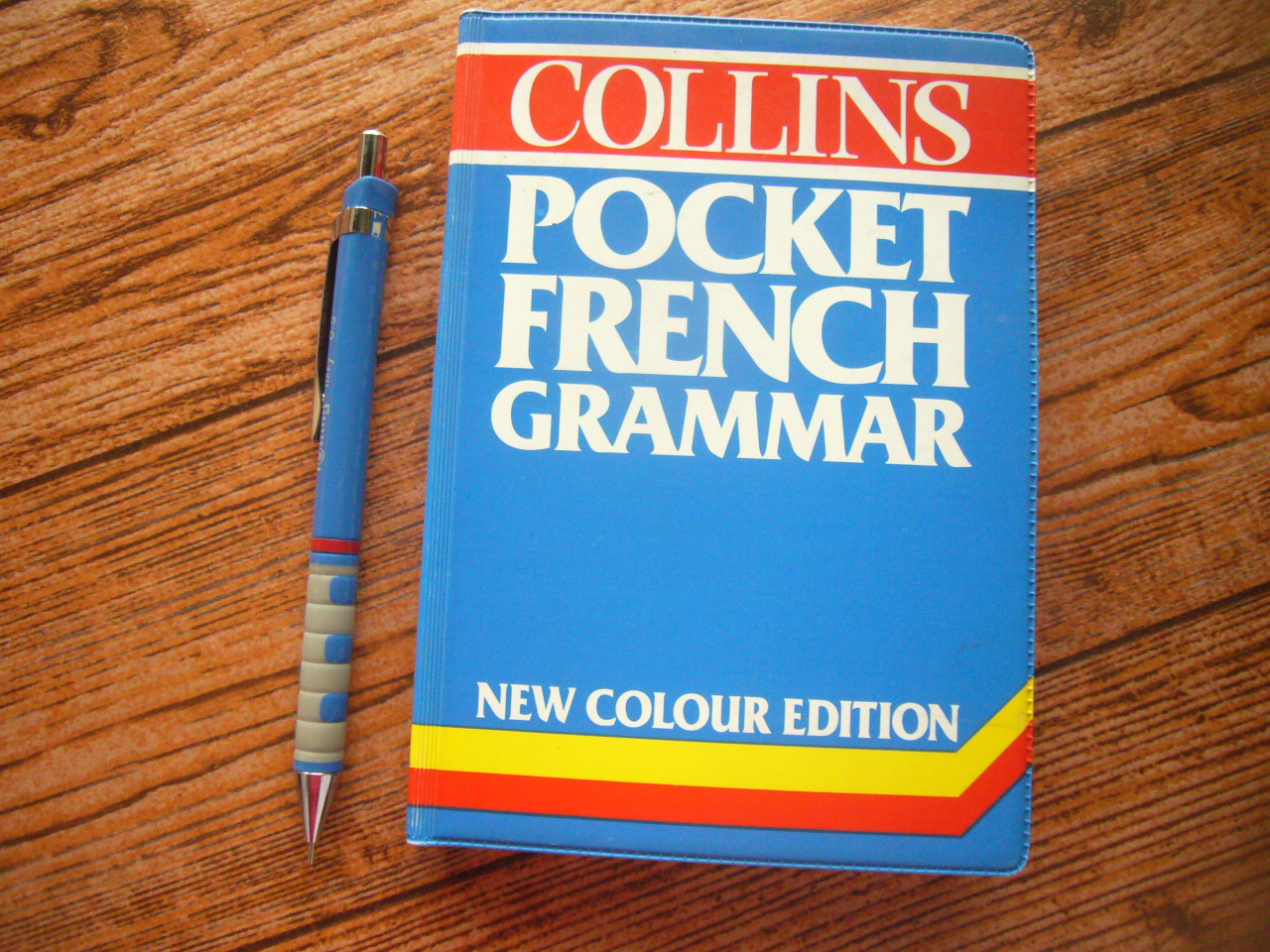 Collins Pocket French Grammar (New Colour Edition)