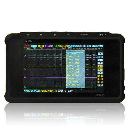 ออสซิลโลสโคป(Oscilloscope) รุ่น ARM DSO203 Nano V2 / Quad Pocket Mini Digital Storage