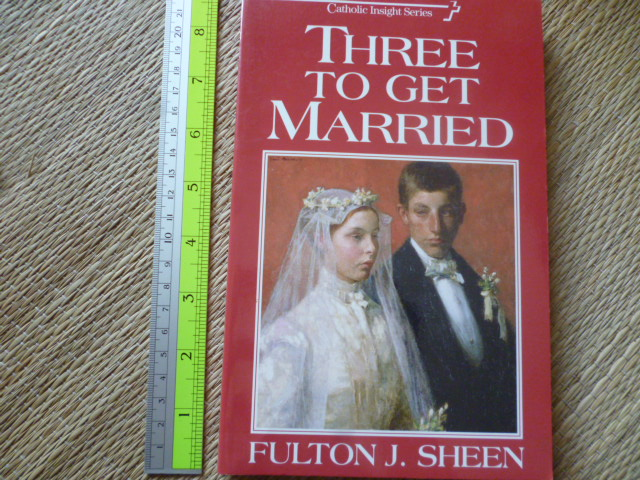 Three To get Married (Catholic Insight Series)