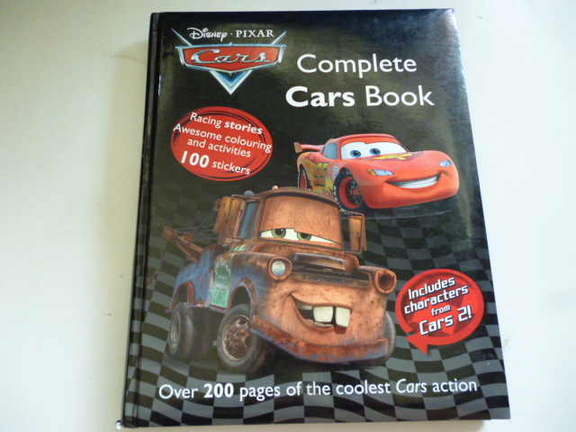 Disney-Pixard CARS: Complete Cars Book (มีตำหนิ)