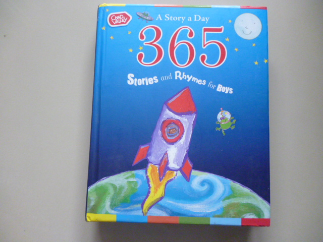 365 Stories and Rhymes For Boys (A Story a Day) ปกนวม
