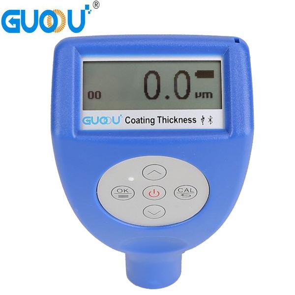 เครื่องวัดความหนาผิวเคลือบ ความแม่นยำสูง (Coating Thickness meter) 0~1250um GTS810F Car Paint Magnetic Chrome Digital Coating Thickness Tester Meter automotive coating Thickness Gauge