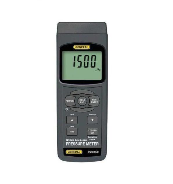 PM930SD เครื่องบันทึกค่าความดัน(Pressure Data logger) มี SD CARD บันทึกค่าเป็น Excel