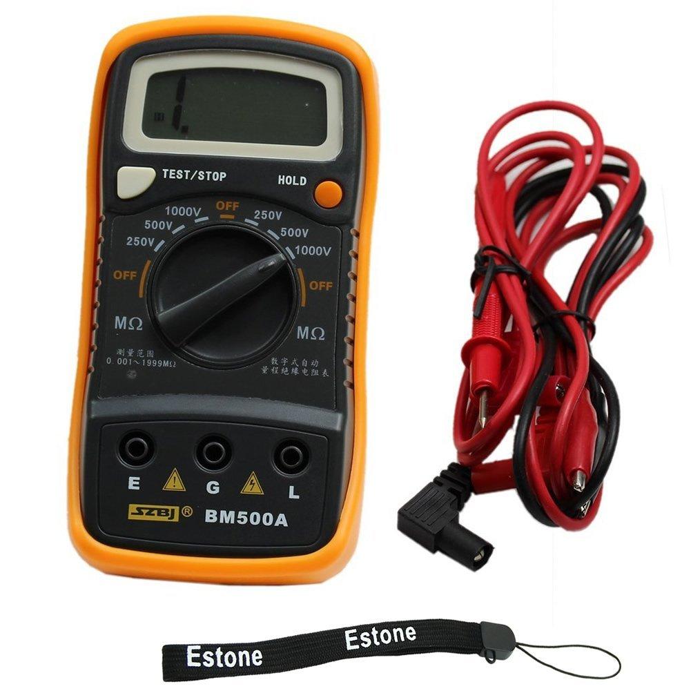 เครื่องวัดความเป็นฉนวน ( Insulation Tester) รุ่น BM500A 1000V 1999MΩ