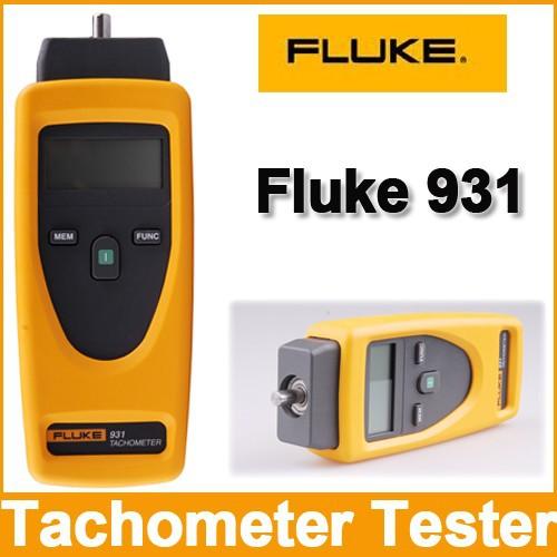 เครื่องวัดความเร็วรอบ Digital Tachometer USA รุ่น Fluke 931 ใช้งานทั้งแบบแสง (Non-contact) และแบบสัมผัส (Contact) ราคากันเอง