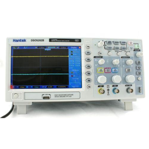 """ออสซิลโลสโคป(Oscilloscope) รุ่น Hantek DSO5202B 200MHz 1Gs LCD 7"""" TFT"""