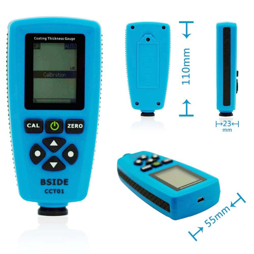 เครื่องวัดความหนาสี(Paint Coating Thickness Gauge) ยี่ห้อCCT01 พร้อม USB Interface