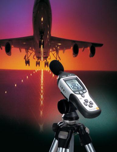 เครื่องวัดเสียง (Sound Meter) ย่านการวัด 30-130dB รุ่น CEM DT-8852 สามารถบันทึกค่าและปรับค่า Alarm ได้