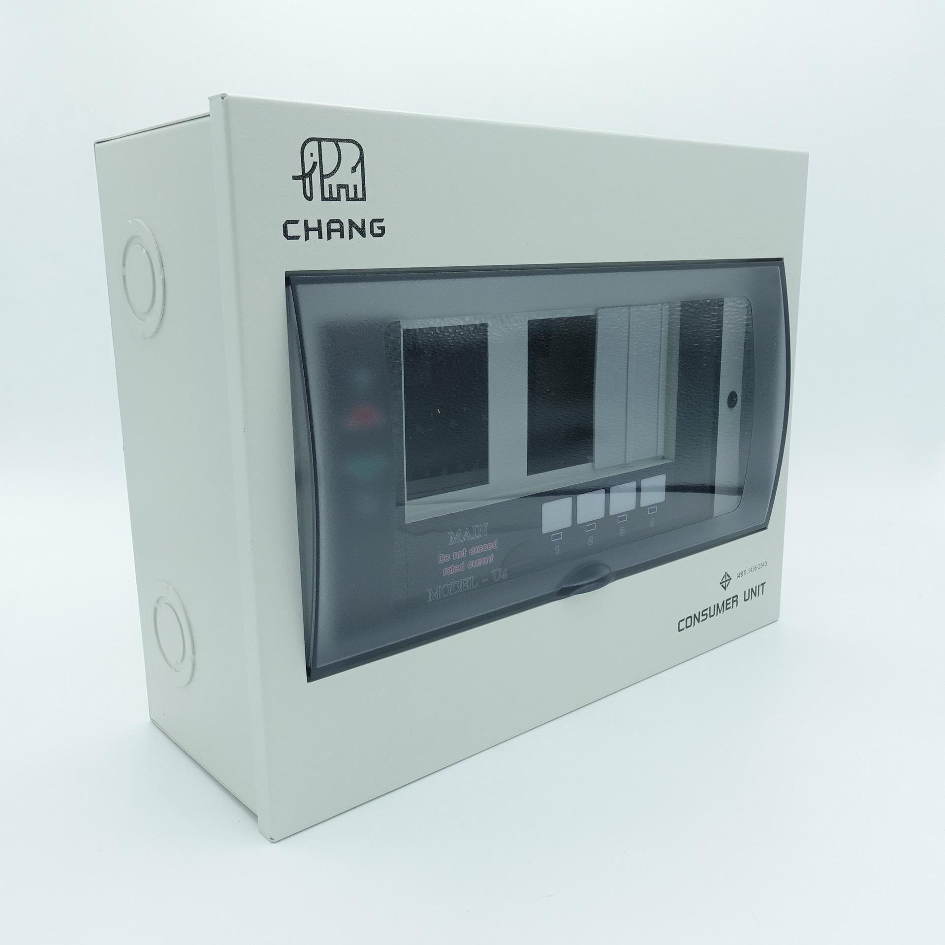 Consumer Unit 2P 4 ช่อง ช้าง รุ่น U