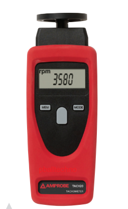 Amprobe TACH20 Combo Tachometer Contact and Non-Contact