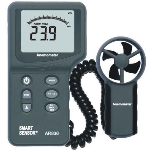 เครื่องวัดความเร็วลม(anemometer) รุ่น AR 836 ช่วงการวัด 0-45 m/s