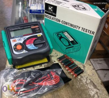 เครื่องทดสอบความเป็นฉนวน (Digital Insulation / Continuity Tester) รุ่น KYORITSU 3007A
