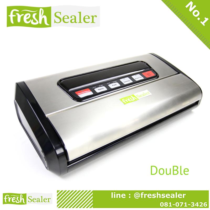 เครื่องซีลสูญญากาศ Fresh Sealer FS-DouBle รุ่น DB