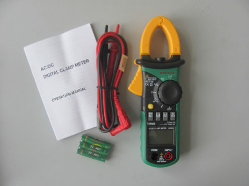 Digital Clamp Meter แคลมป์มิเตอร์ รุ่น MS2108 True-RMS