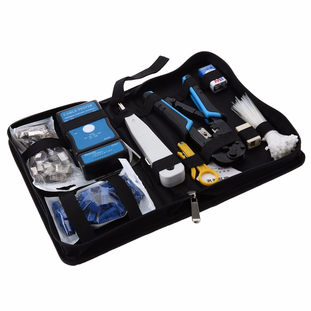 Network Tool Kit,Network Tool Kit Computer Maintenance Repair Set Net Pliers Wire Cutter Wire Stripping Knife
