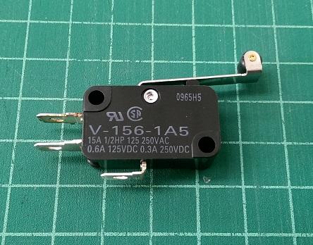 ไมโครสวิทซ์ V156-1A5 Omron