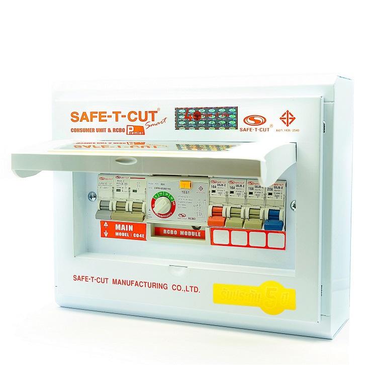 ตู้ RCBO 4 ช่อง Safe-T-Cut