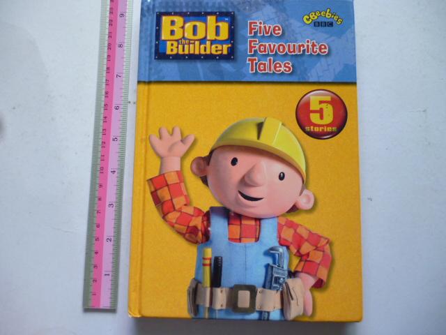 Bob the Builder Five Favourite Tales (CBeebies BBC)