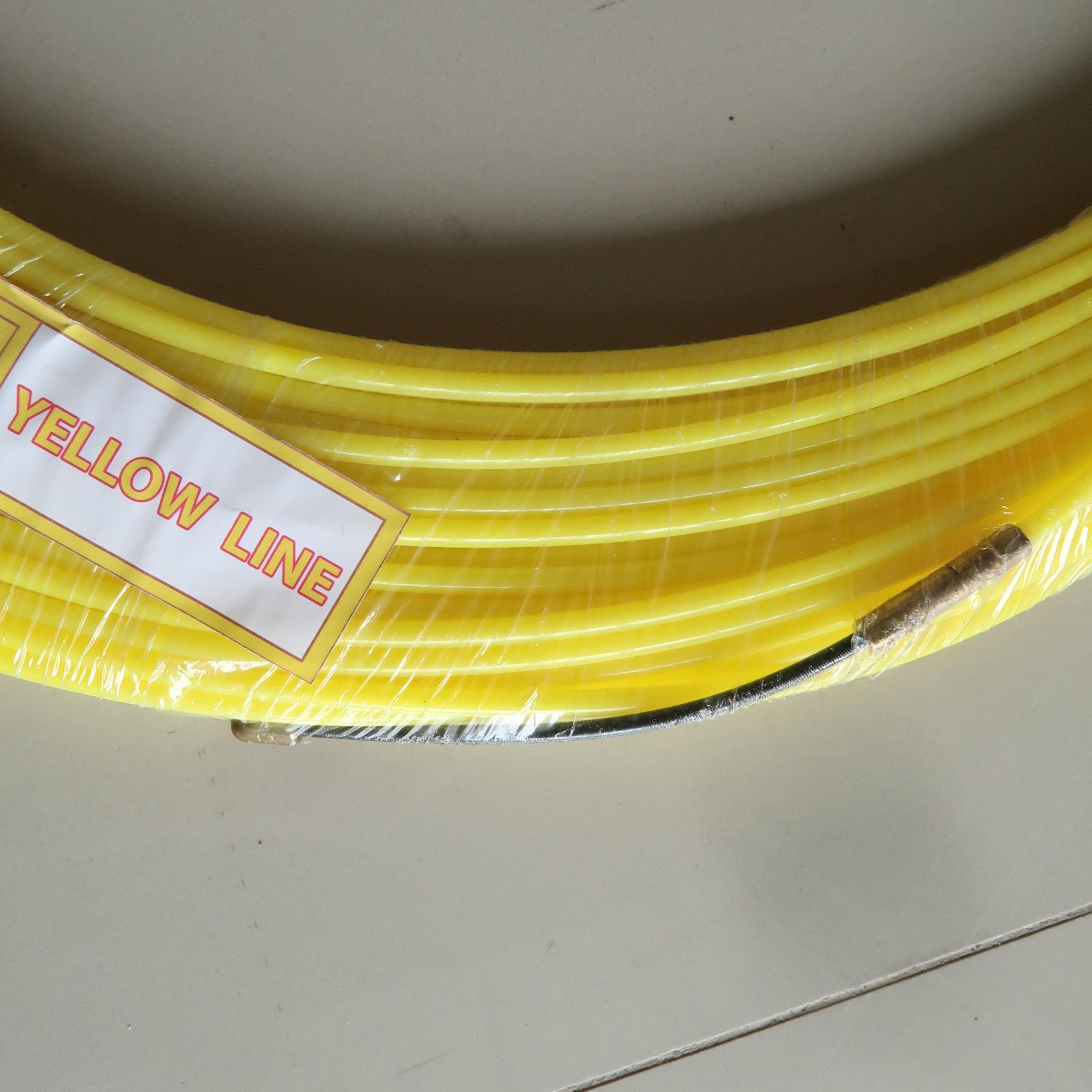 ฟิชเทป POM 4.5 มม. (สีเหลือง)
