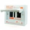 ตู้ Consumer Unit 2P ขนาด-12 ช่อง Safe-T-Cut