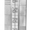 แผ่นสอบเทียบความเรียบผิวงานเจียระไน (Surface Grinding MICROINCH Comparator) รุ่น 16009