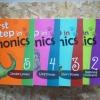 พร้อมส่ง หนังสือชุด First Step in Phonics (5 Books/ CDs)
