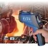"DT-9860 อินฟราเรดเทอร์โมมิเตอร์ หรือ ปืนวัดอุณหภูมิ (Infrared Thermometer ) 50:1 หน้าจอสี TFT LCD 2.2"""