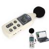 เครื่องวัดเสียง (Sound Meter) ย่านการวัด 35-130dB มีพอร์ท USB สามารถบันทึกข้อมูลผ่านคอมพิวเตอร์ได้