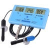เครื่องทดสอบคุณภาพน้ำ 7-in-1 ราคากันเอง ความกระด้างของน้ำ ค่าความนำไฟฟ้า อุณหภูมิ ORP (mV), PH, CF, EC, TDS (ppm), degree F, degree C Meter
