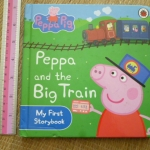 Peppa Pig: Peppa and the Big Train (Board Book)