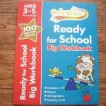 Gold Stars: Ready for School Big Workbook (Ages 3-5 Pre-school)