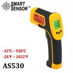 ปืนยิงวัดอุณหภูมิ ราคากันเอง (IR Thermometer) ยี่ห้อ Smart Sensor รุ่น AS-530 -32-550 ℃ 12:1